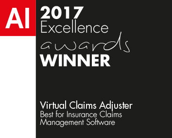 AI 2017 Excellence Awards Winner Logo - Virtual Claims Adjuster